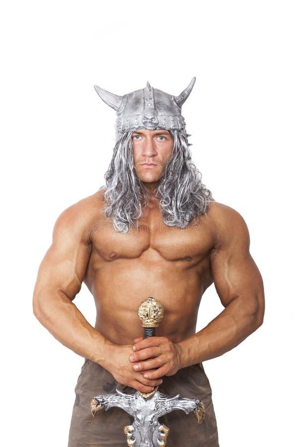 Conan barbaren fotografering för bildbyråer
