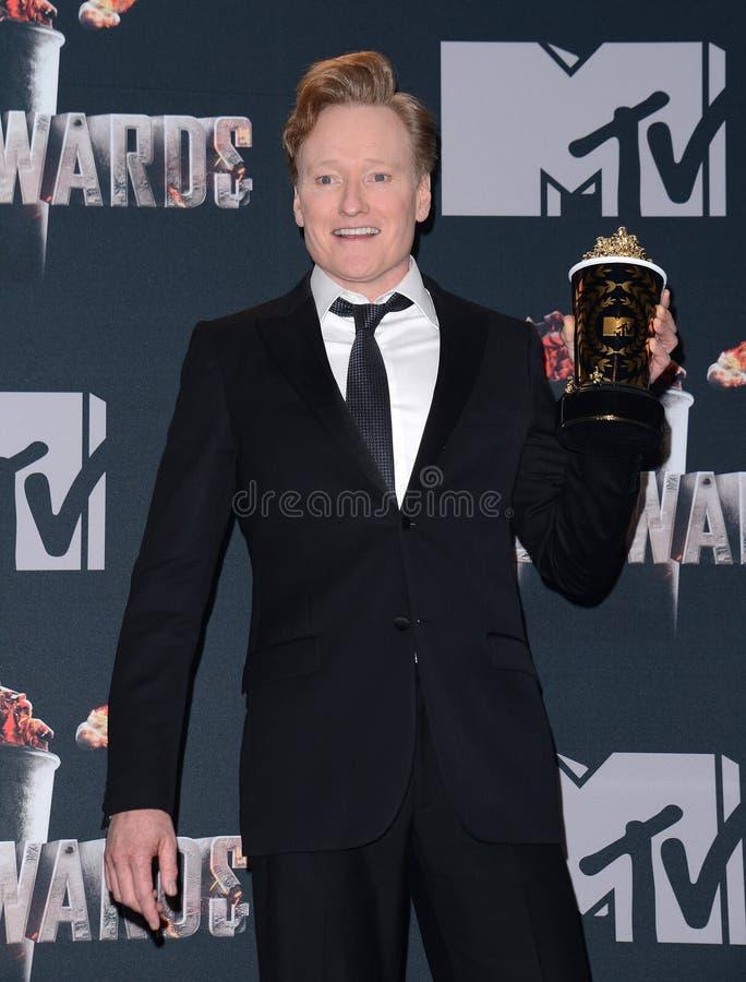 Conan O ` Brien 免版税库存图片