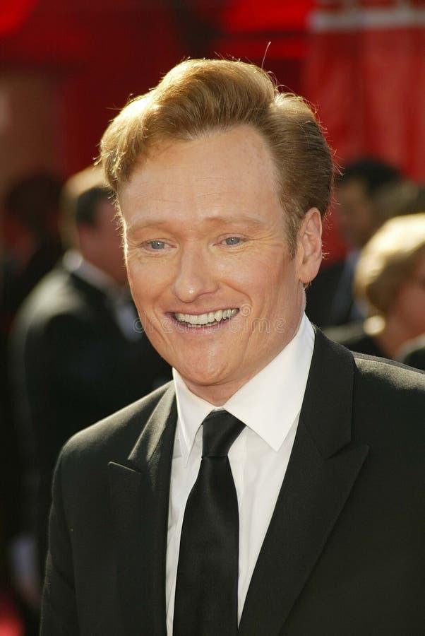 Conan O'Brien royaltyfri bild