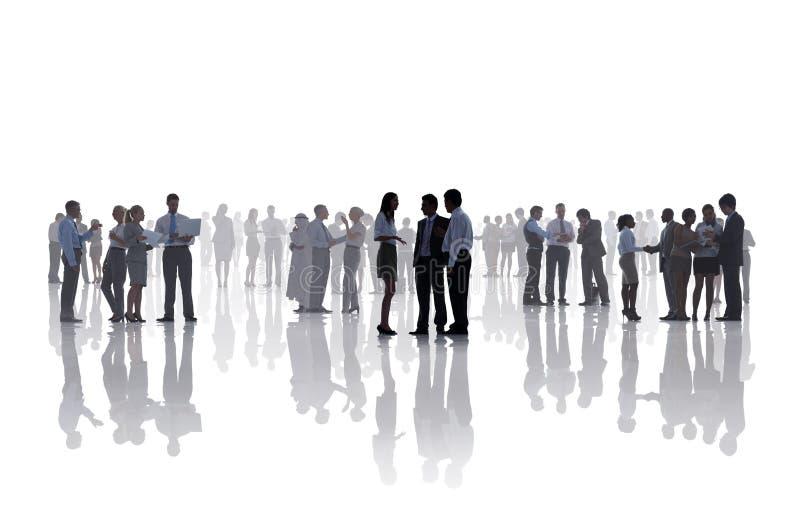 Conc Mededeling van de bedrijfsmensen de Collectieve Administratieve Arbeider stock afbeeldingen