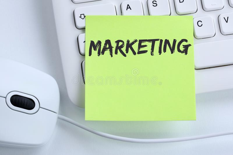 Conce di affari dell'ufficio di successo della pubblicità di vendita riuscito fotografia stock