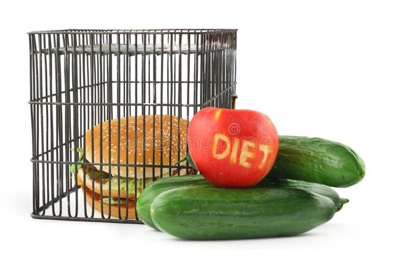 Conceito #2 da dieta imagens de stock royalty free