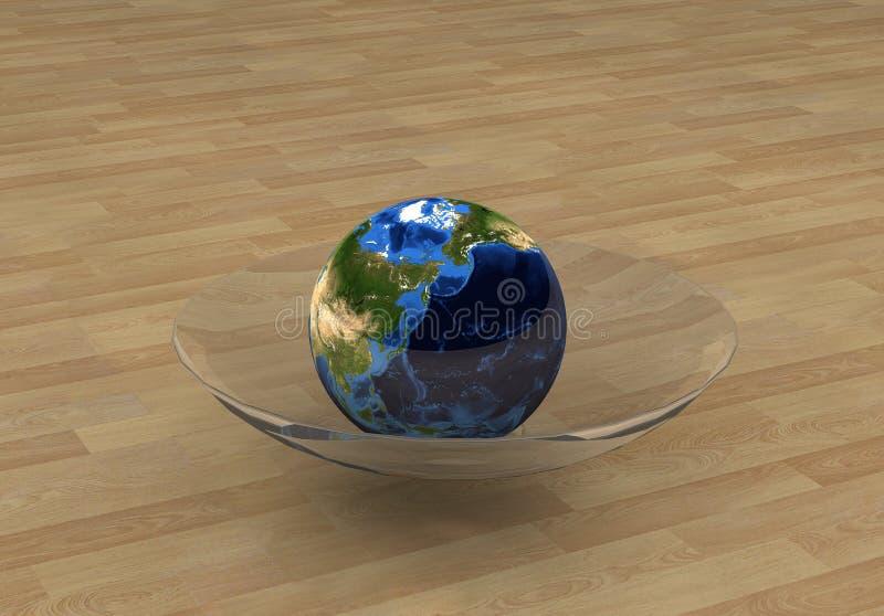 Conceito 4 do globo ilustração do vetor