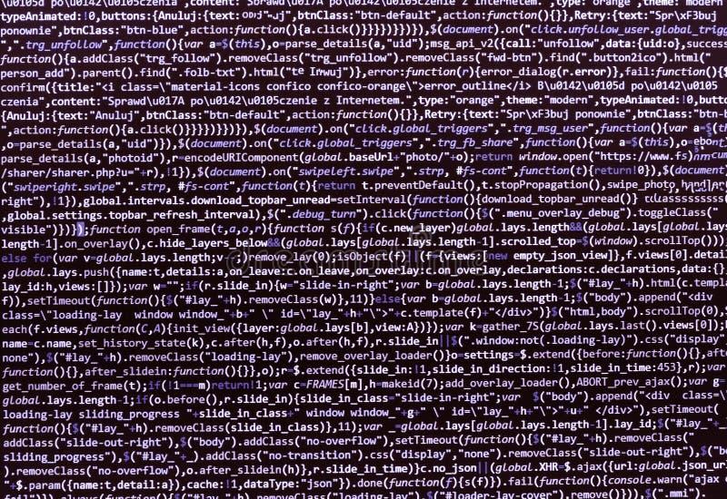 Conceito abstrato de programação do algoritmo dos trabalhos foto de stock