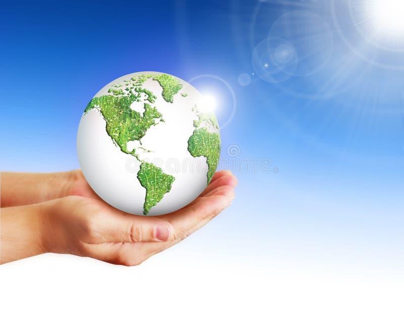 Conceito ambiental da energia imagem de stock