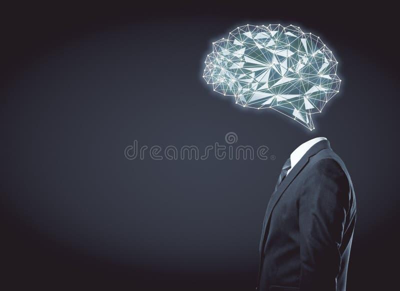 Conceito artificial da mente fotografia de stock royalty free