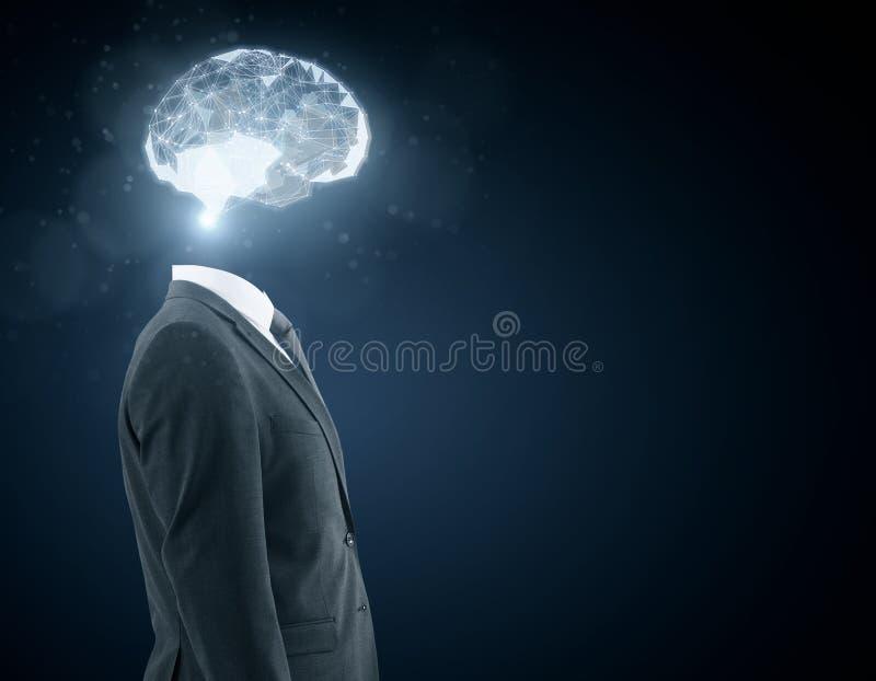 Conceito artificial da mente imagem de stock royalty free