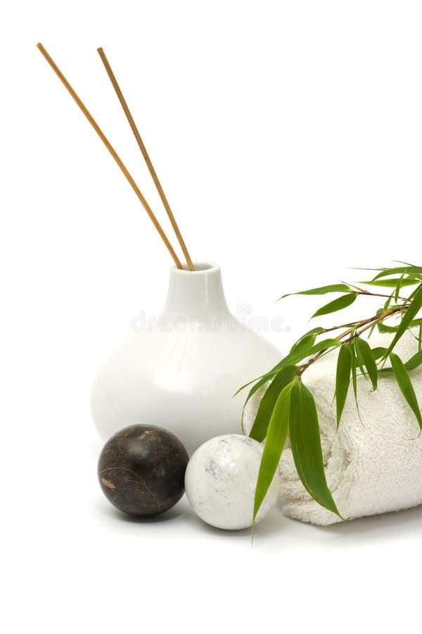 Conceito asiático do wellness fotos de stock