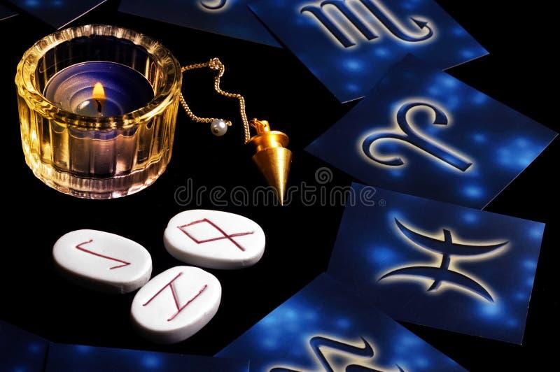 Conceito astrológico fotos de stock
