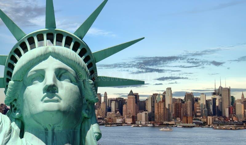 Conceito bonito do curso do turismo para New York City fotos de stock royalty free