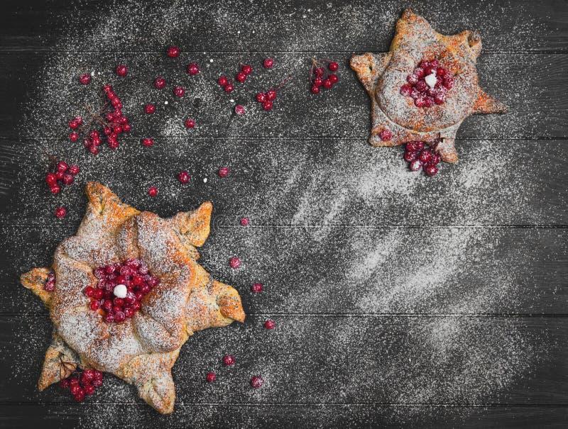 Conceito com neve para cartões de Natal imagem de stock royalty free