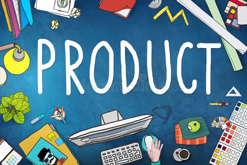 Conceito comercial do mercado da marcagem com ferro quente de produto ilustração royalty free