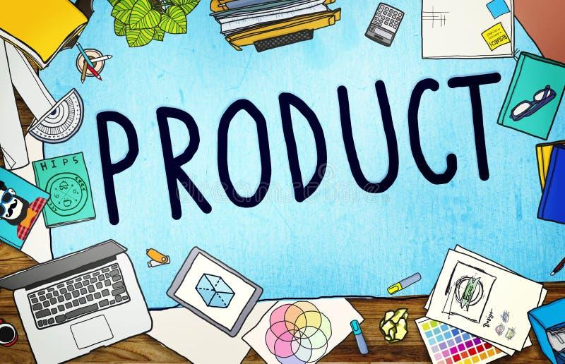 Conceito comercial do mercado da marcagem com ferro quente de produto ilustração stock