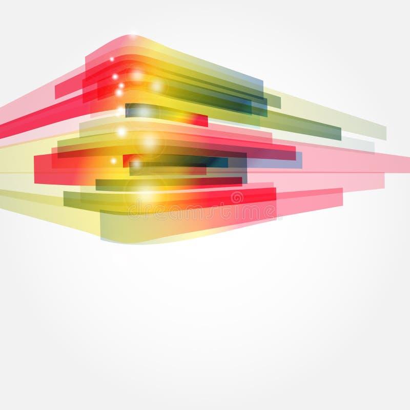Conceito corporativo com projeto moderno ilustração do vetor