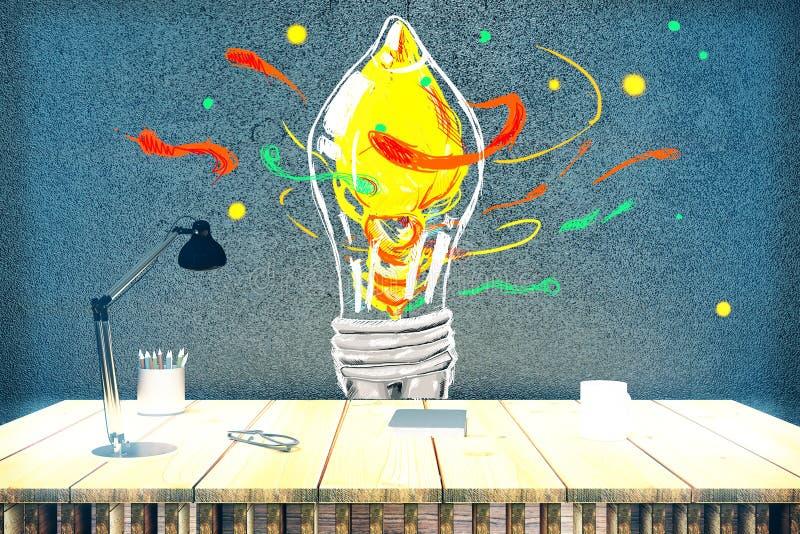 Conceito creativo da idéia ilustração stock
