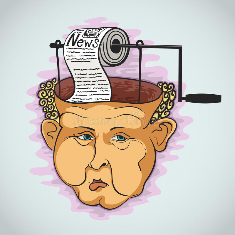 Conceito creativo gráfico ilustração royalty free