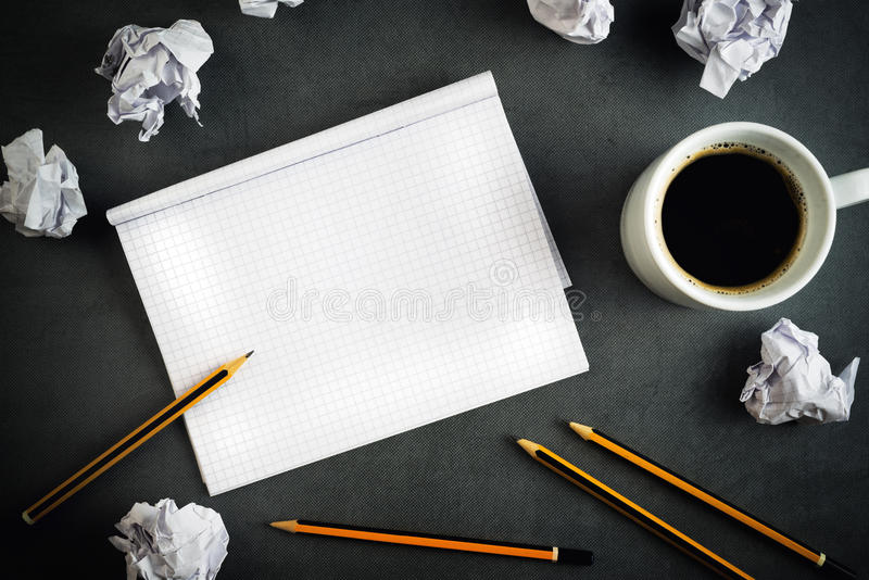 Conceito criativo da escrita foto de stock