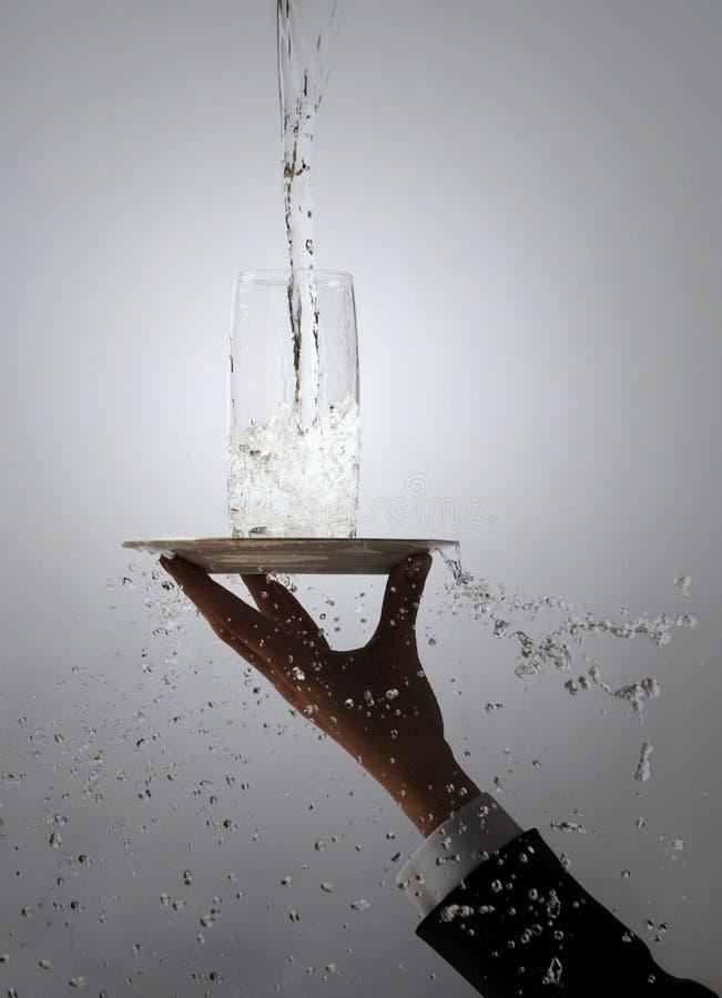 Conceito da água imagens de stock