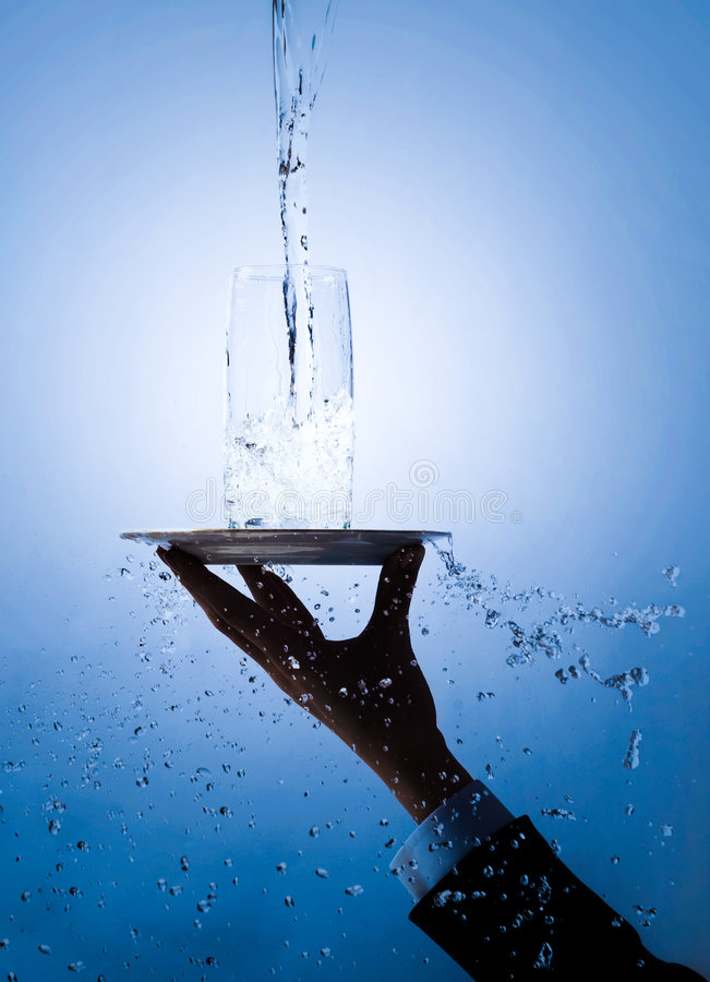 Conceito da água fotografia de stock royalty free
