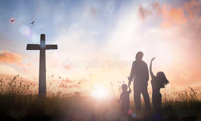 Conceito da adoração da família fotos de stock royalty free