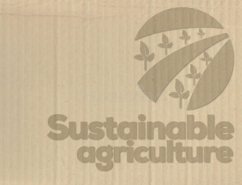 Conceito da agricultura sustent?vel foto de stock royalty free