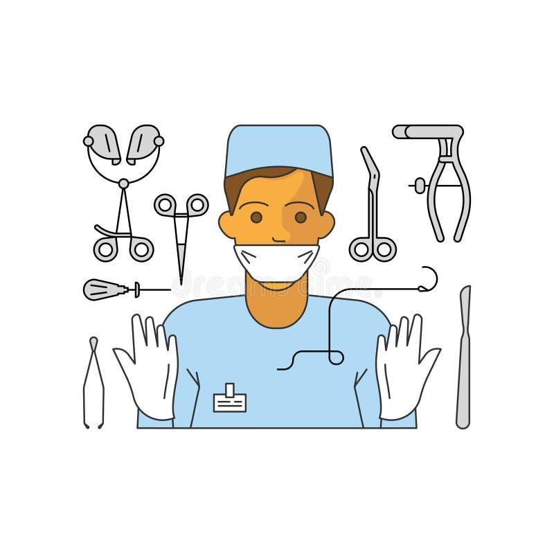 Conceito da ajuda médica ilustração royalty free