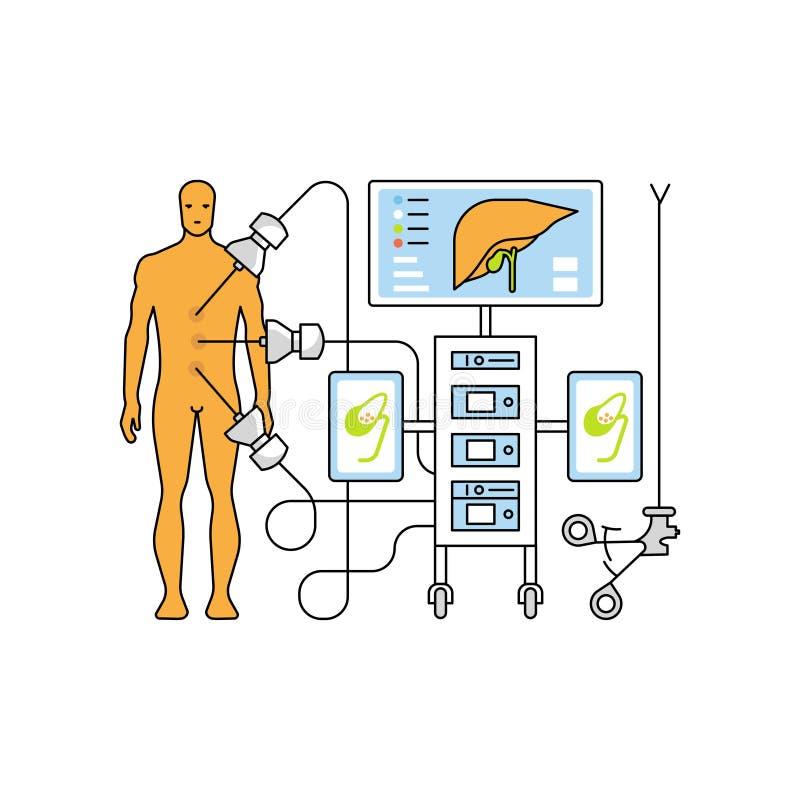 Conceito da ajuda médica ilustração do vetor
