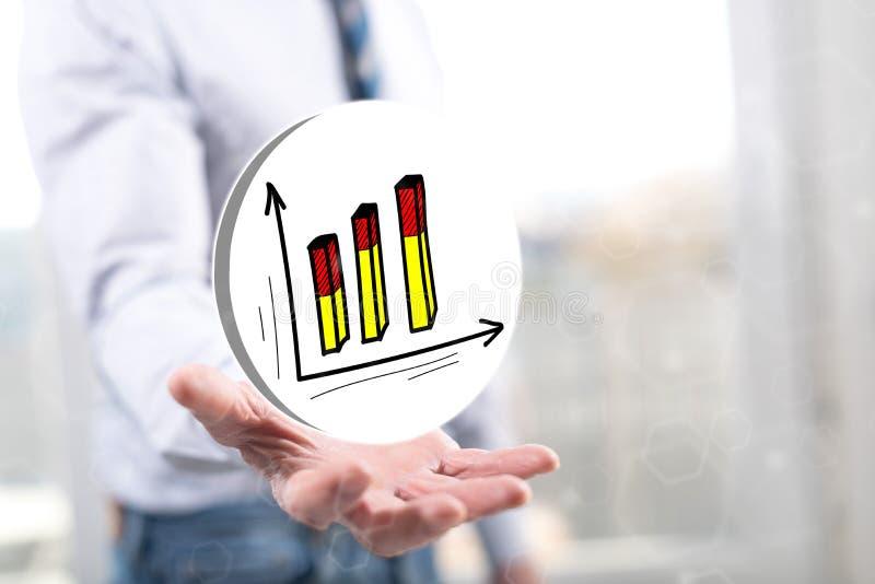 Conceito da análise de negócio fotos de stock