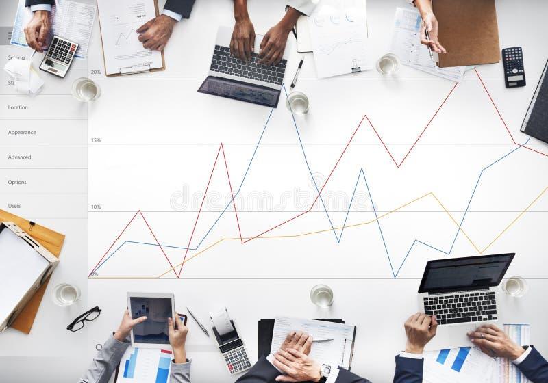 Conceito da avaliação da revisão dos resultados do feedback do negócio imagens de stock royalty free