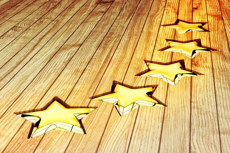 Conceito da avaliação de qualidade, da avaliação dos resultados, da classificação, da avaliação e da classificação ilustração stock