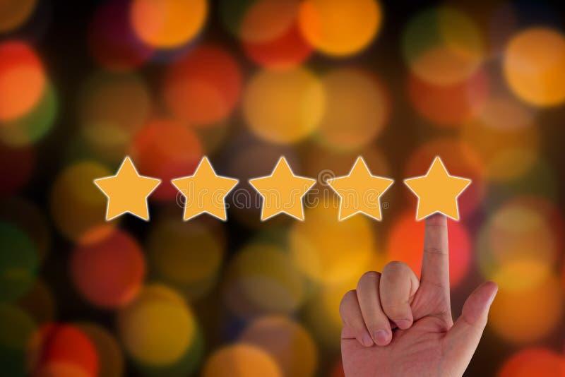 Conceito da avaliação e da avaliação imagens de stock
