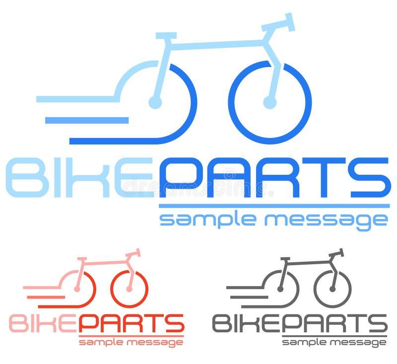 Conceito da bicicleta ilustração do vetor