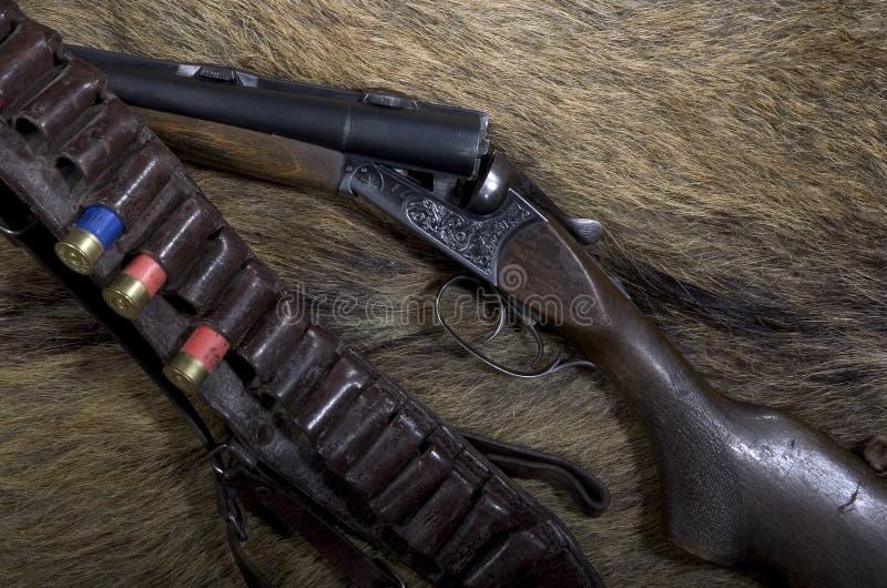 Conceito da caça foto de stock