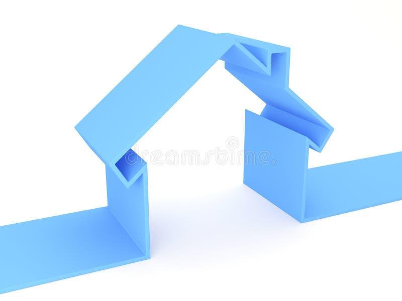 Conceito da casa ilustração stock