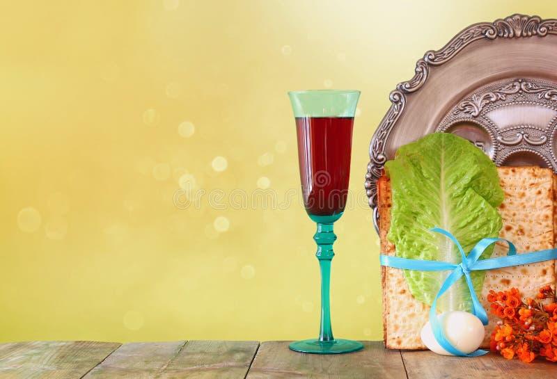 Conceito da celebração de Pesah (feriado judaico da páscoa judaica) foto de stock royalty free