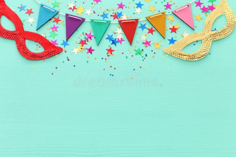 Conceito da celebração do festival de Purim & x28; feriado judaico do carnaval imagem de stock royalty free