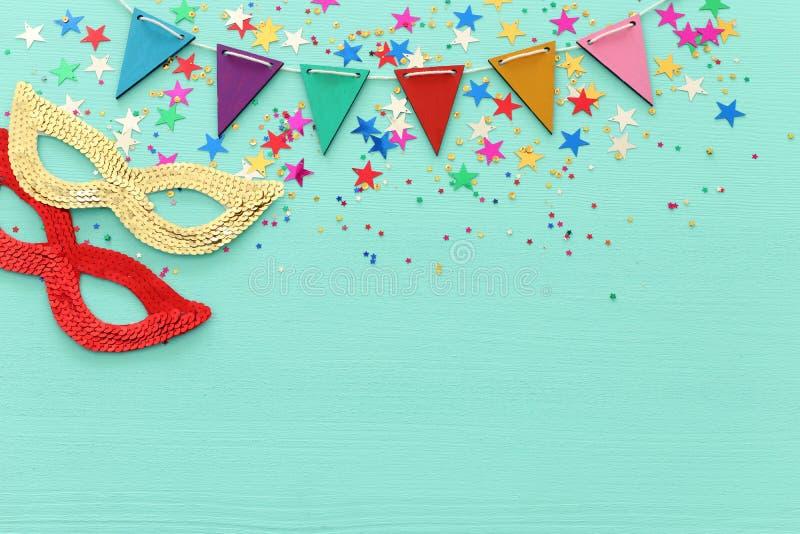 Conceito da celebração do festival de Purim & x28; feriado judaico do carnaval fotografia de stock