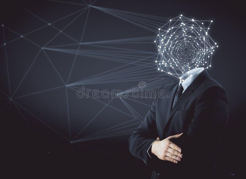 Conceito da conexão imagem de stock