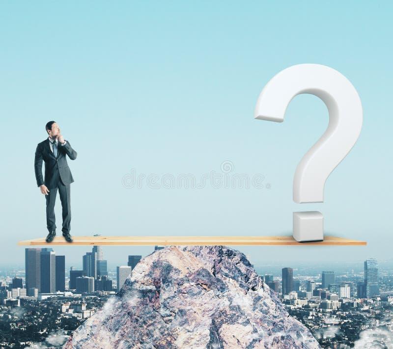 Conceito da confusão e do equilíbrio imagens de stock royalty free