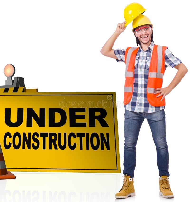 Conceito da constru??o inferior para seu Web page fotos de stock royalty free