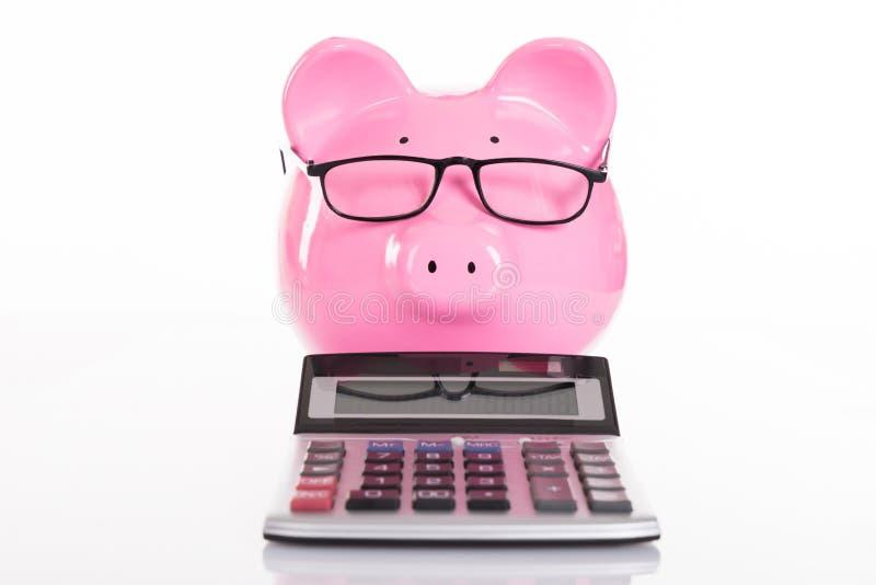 Conceito da contabilidade e das economias fotografia de stock royalty free