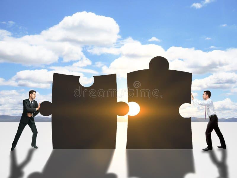 Conceito da cooperação fotos de stock