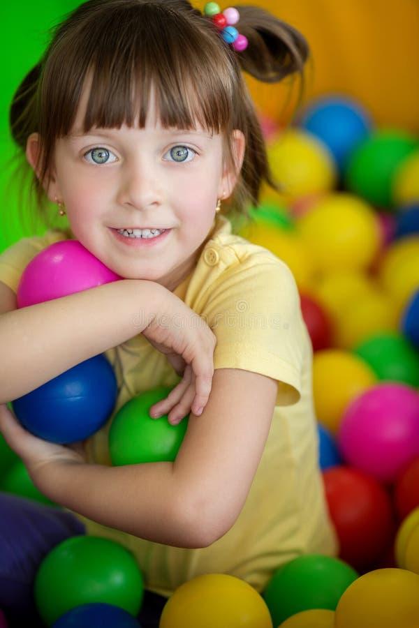 Conceito da criança em idade pré-escolar foto de stock