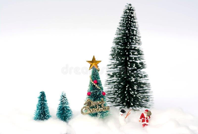 Conceito da decoração do Natal imagem de stock