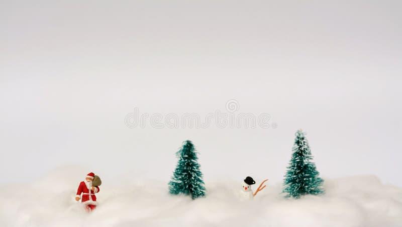 Conceito da decoração do Natal foto de stock
