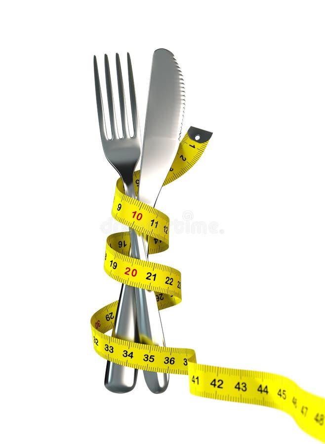Conceito da dieta imagem de stock royalty free