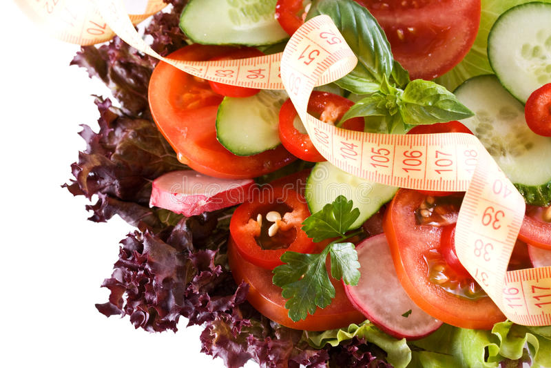 Conceito da dieta fotografia de stock royalty free