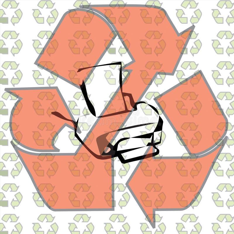 Conceito da ecologia ilustração stock