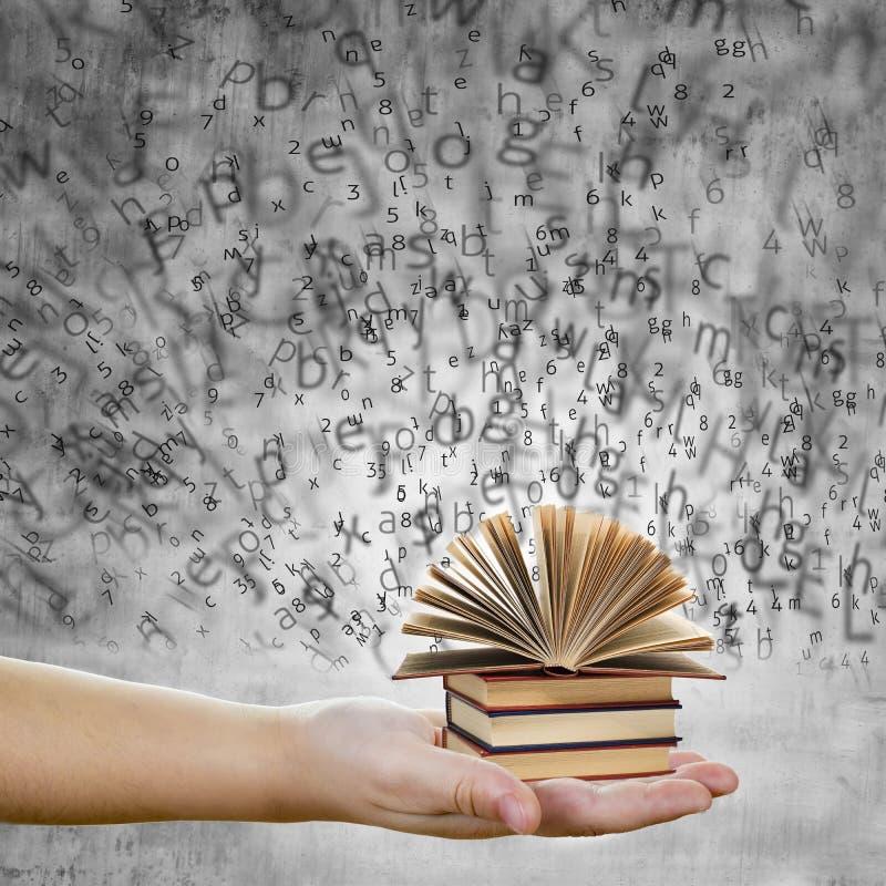 Conceito da educação e do conhecimento fotografia de stock royalty free
