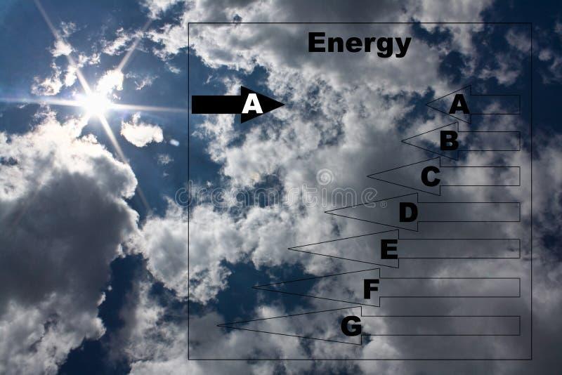Conceito da energia foto de stock